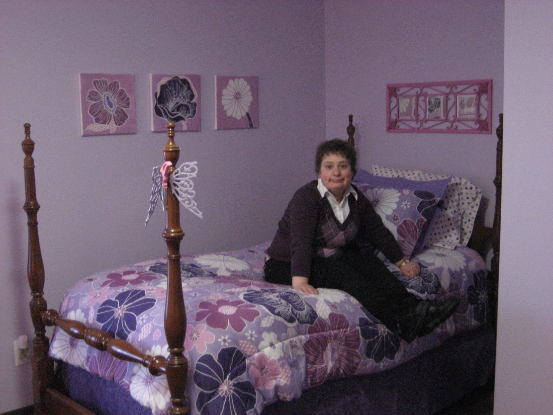 Learn the History of COC - Community Opportunity Center - Shannon_in_bedroom
